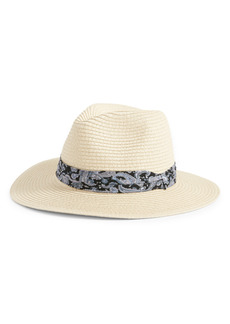 Women's Nordstrom Paisley Bandana Panama Hat