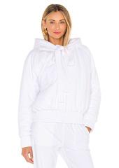 Norma Kamali Hooded Bomber Jacket