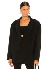 Norma Kamali Oversized Double Breasted Jacket