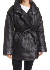 Norma Kamali Sleeping Bag Belted Car Coat