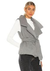 Norma Kamali Sleeping Bag Vest