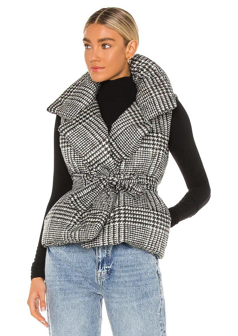 Norma Kamali Sleeveless Sleeping Bag Vest