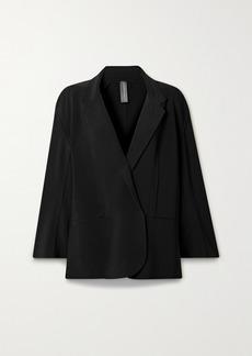 Norma Kamali Oversized Stretch-jersey Blazer