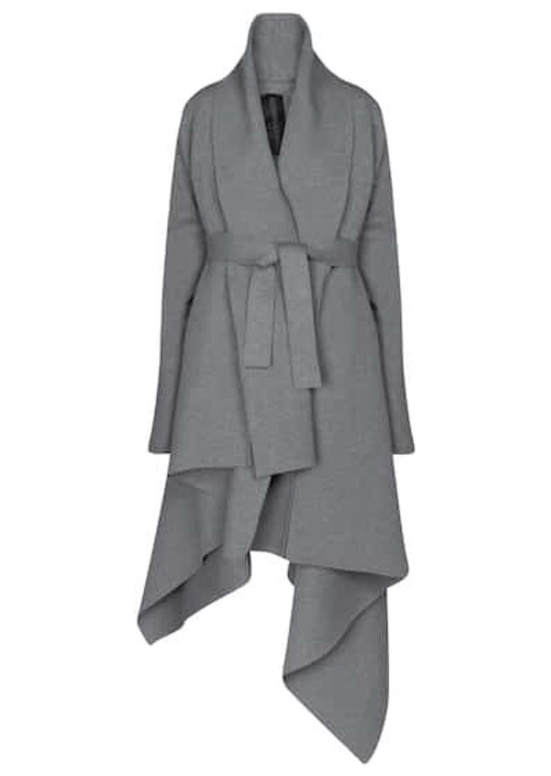 Norma Kamali Stretch-cotton coat