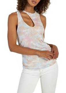 n:PHILANTHROPY Marlin Tie Dye Slash Shoulder Tank