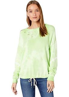 n:Philanthropy Olympia Tie-Dye Distressed Sweatshirt