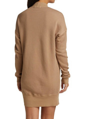 n:Philanthropy Pari Asymmetric Turtleneck Sweatershirt Dress