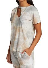 n:Philanthropy Tie-Dye Cutout T-Shirt
