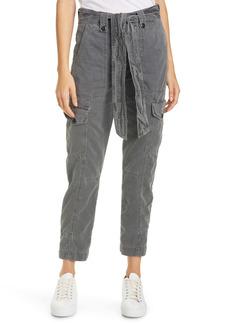 NSF Clothing Sash Belt Cotton Cargo Pants
