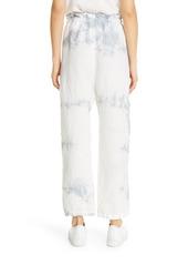 NSF Clothing Shailey Ruffle Waist Harem Pants