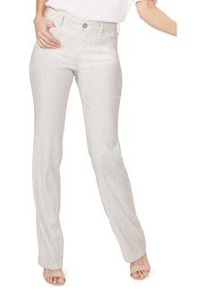 Petite Women's Nydj Linen Trousers