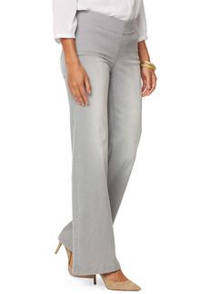 NYDJ Pull-On Wide Leg Jeans (Clean Grace)