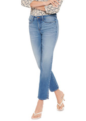 NYDJ Sheri Side Slit Slim Ankle Jeans