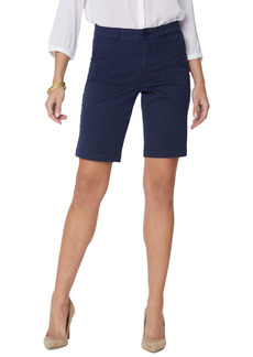 NYDJ Stretch Twill Bermuda Shorts (Regular Size)