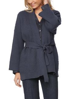 NYDJ Textured Wrap Cardigan