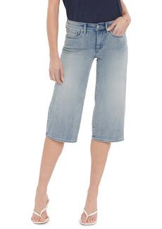 NYDJ Wide Leg Pedal Capri Jeans (Clean Affection)