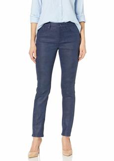NYDJ Women's Alina Skinny Faux Suede Jeans