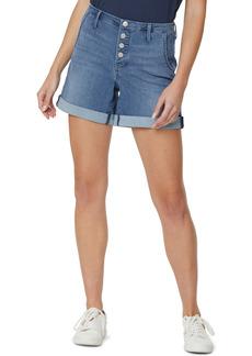 Petite Women's Nydj High Waist Denim Shorts