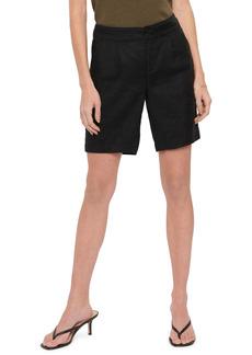 Petite Women's Nydj Modern Linen Blend Bermuda Shorts