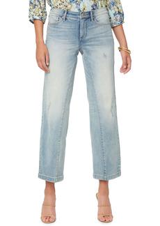 Petite Women's Nydj Teresa Wide Leg Jeans