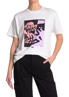Obey Floral Icon Short Sleeve T-Shirt
