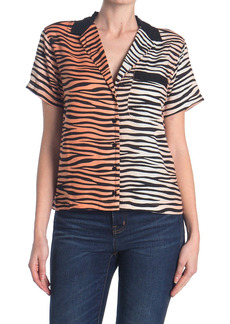 Obey Kitty Cropped Shirt