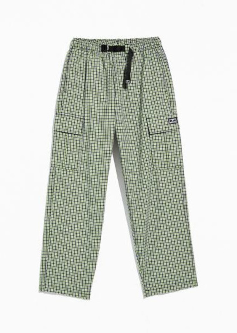 OBEY Easy Gingham Cargo Pant