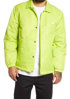 Obey Icon Flight Jacket with Faux Fur Lining