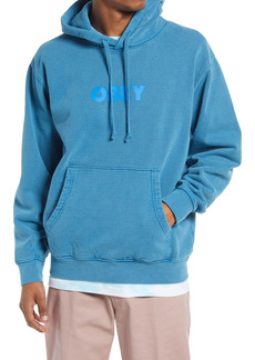 Obey Logo Sustainable Hoodie
