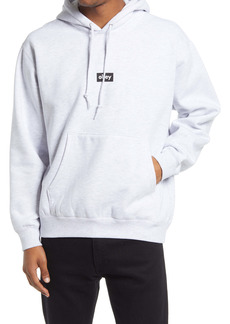 Obey Men's Black Bar Logo Hoodie