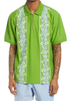 Obey Men's Penn Zip Polo