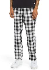 Obey Newton Plaid Pants