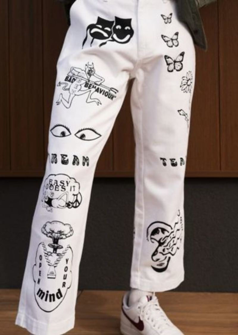 OBEY Printed Carpenter Pant