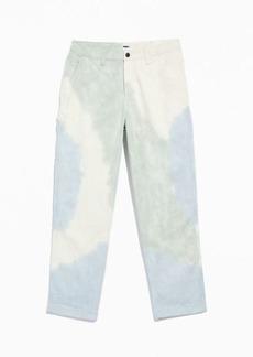 OBEY Tie-Dye Carpenter Pant