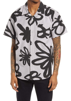 Obey Tommy Short Sleeve Button-Up Shirt