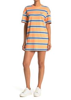 Obey Peri Striped T-Shirt Dress