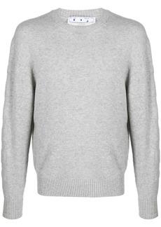 Off-White Arrows motif crew-neck jumper