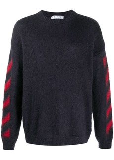 Off-White Diagonals crew-neck jumper