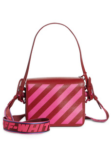Off-White Diagonal Stripe Shoulder Bag