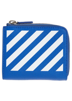 Off-White Diagonal Stripe Wallet