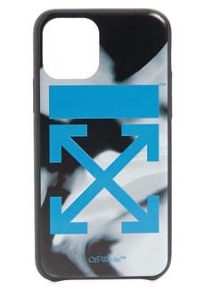 Off-White Liquid Melt Arrow Logo iPhone 11 Pro Case