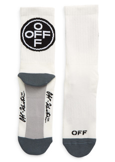 Off-White Logo Crew Socks