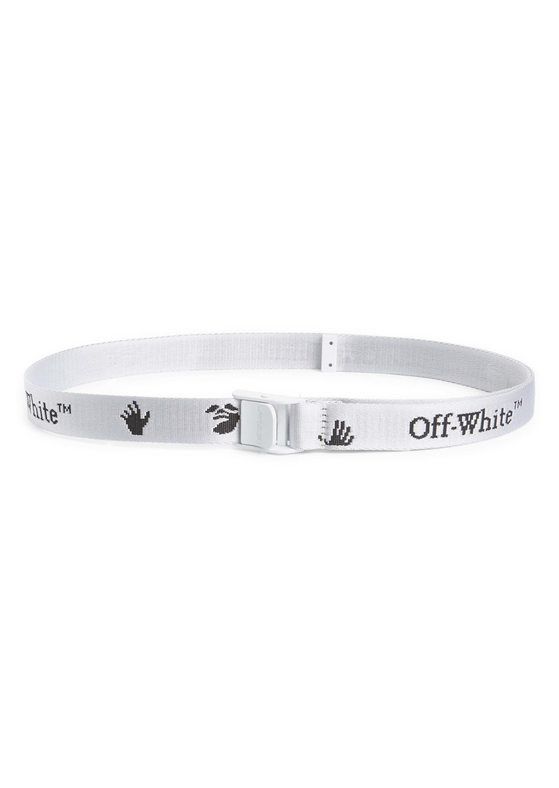 Off-White Logo Industrial Woven Belt