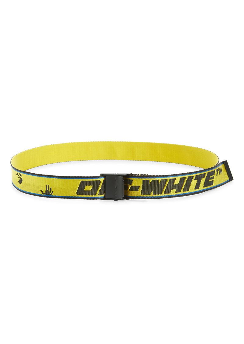 Off-White Logo Industrial Woven Belt