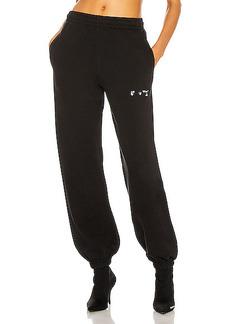 OFF-WHITE Logo Slim Sweatpants