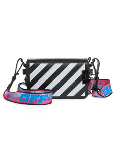 Off-White Mini Diagonal Stripe Leather Bag