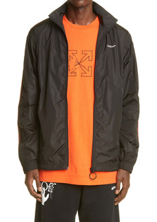 Off-White Pivot Logo Arrow Men's Nylon Jacket