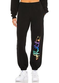 OFF-WHITE Rainbow Sweatpants