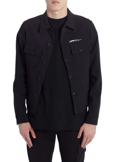 Off-White Slim Scuba Jacket