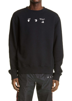 Off-White World Peace Men's Crewneck Sweatshirt